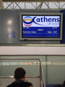 Athens Airways Checkin